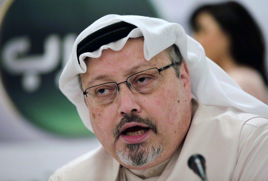 沙烏地阿拉伯籍記者哈紹吉在沙國駐土耳其伊斯坦堡領事館遭殺害。 (美聯社)