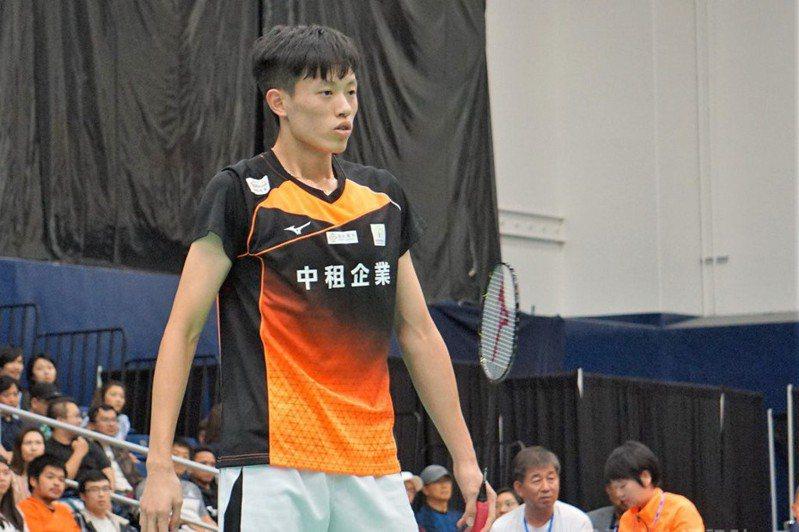 世界排名75的台灣小將林俊易從會外賽起步,第二輪爆冷扳倒世界排名13的強敵,成功闖進8強。 中央社