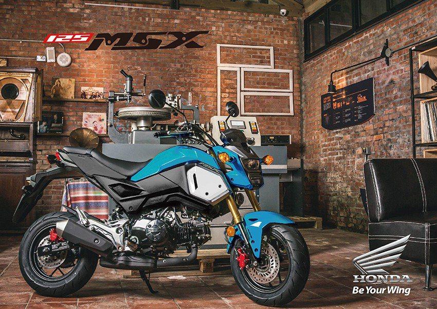 Honda Motorcycle MSX 125。 新光三越桃園站前店/提供