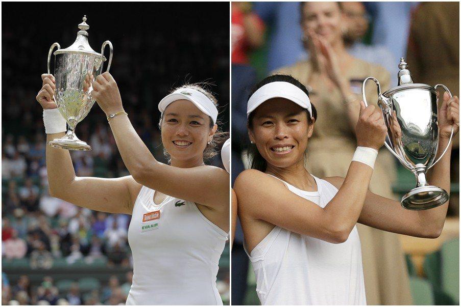 中華網協秘書長劉中興認為,詹詠然與謝淑薇最重要的成就之一,就是打破網球就是歐美人...