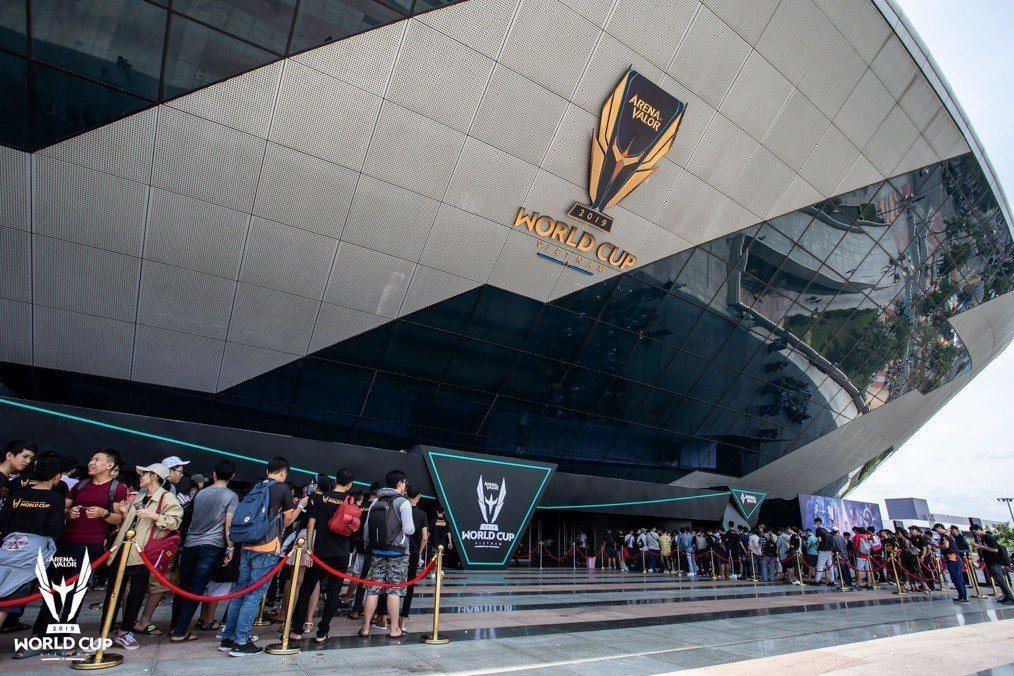 2019《Garena傳說對決》AWC世界盃四強與總決賽在越南峴港仙山體育場舉行...