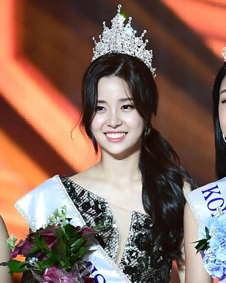 2019韓國小姐冠軍金世妍。圖/擷自instagram