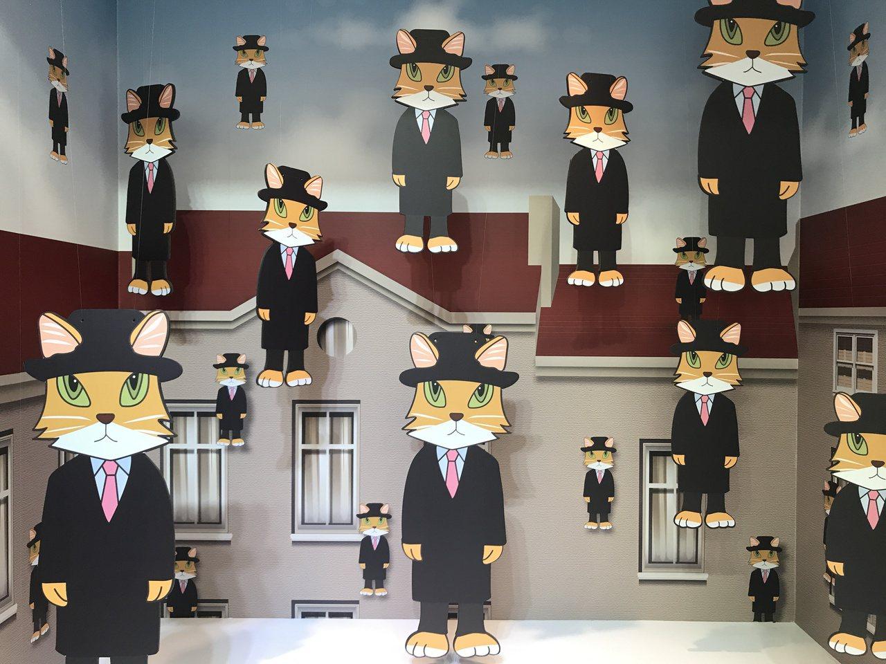 戈爾孔達貓裝置設計。記者江佩君/攝影