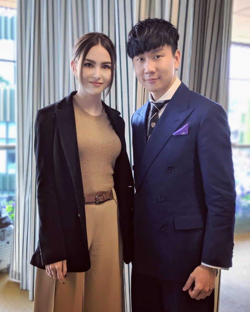 昆凌與JJ林俊傑。圖/擷自IG