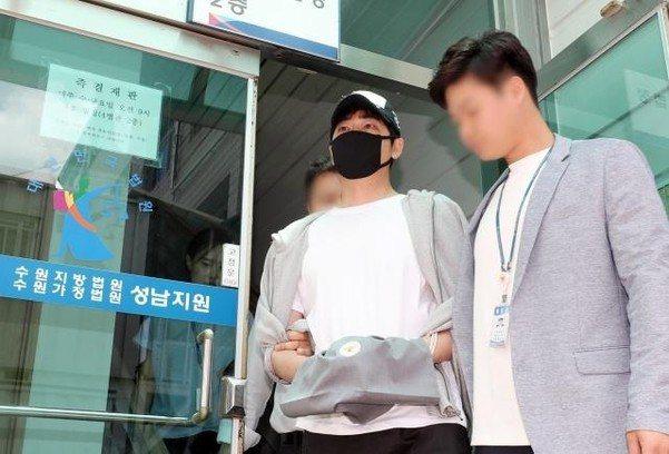 男星姜至奐涉性侵。圖/擷自chosun.com