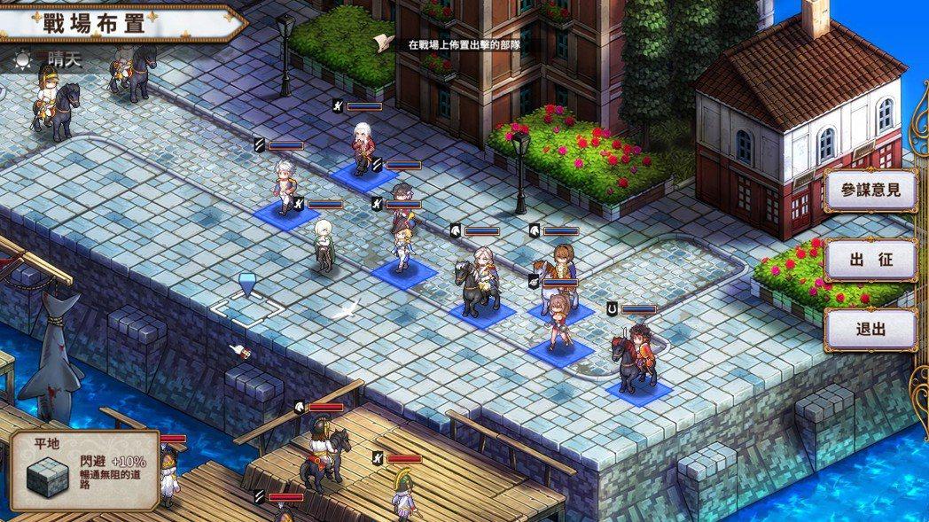 《聖女戰旗》是一款難度不低的 SRPG 回合制戰旗遊戲。