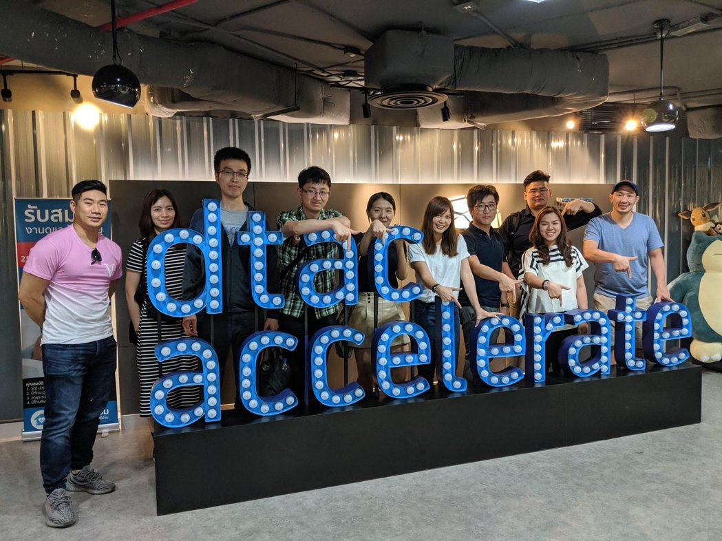 #TaiwanRocks Thailand參訪dtac accelerate辦公...