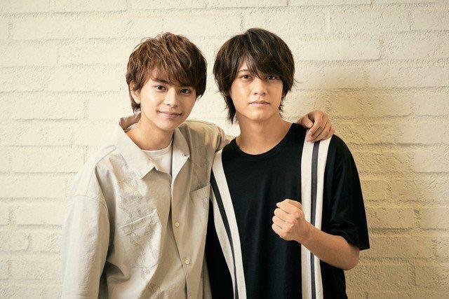 King & Prince髙橋海人(右)與Sexy Zone佐藤勝利。圖/擷自推