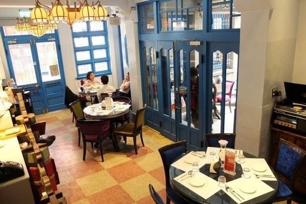 台南/赤崁璽樓蔬食餐廳,老洋樓異國蔬食美食
