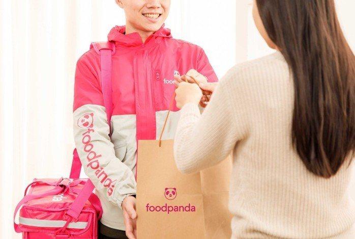foodpanda外送食物平台。圖/foodpanda提供