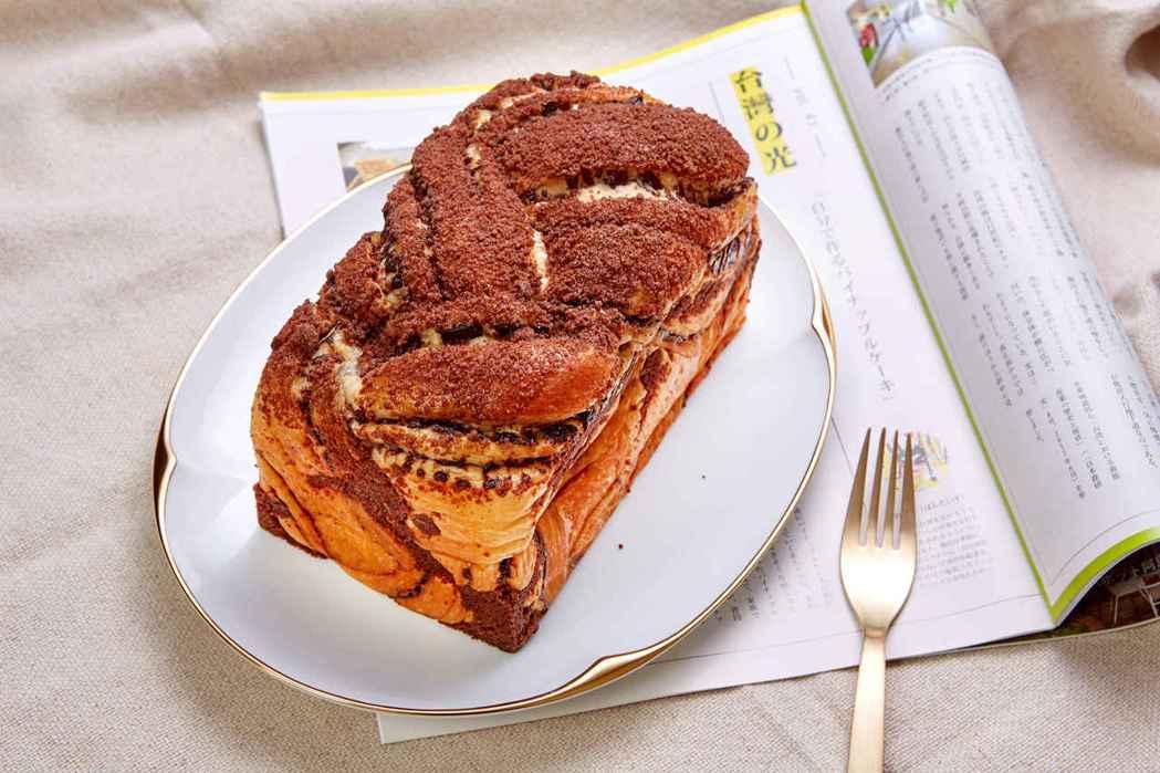 巧克力吐司是林口國賓麵包房的人氣商品之一。(照片提供:國賓)