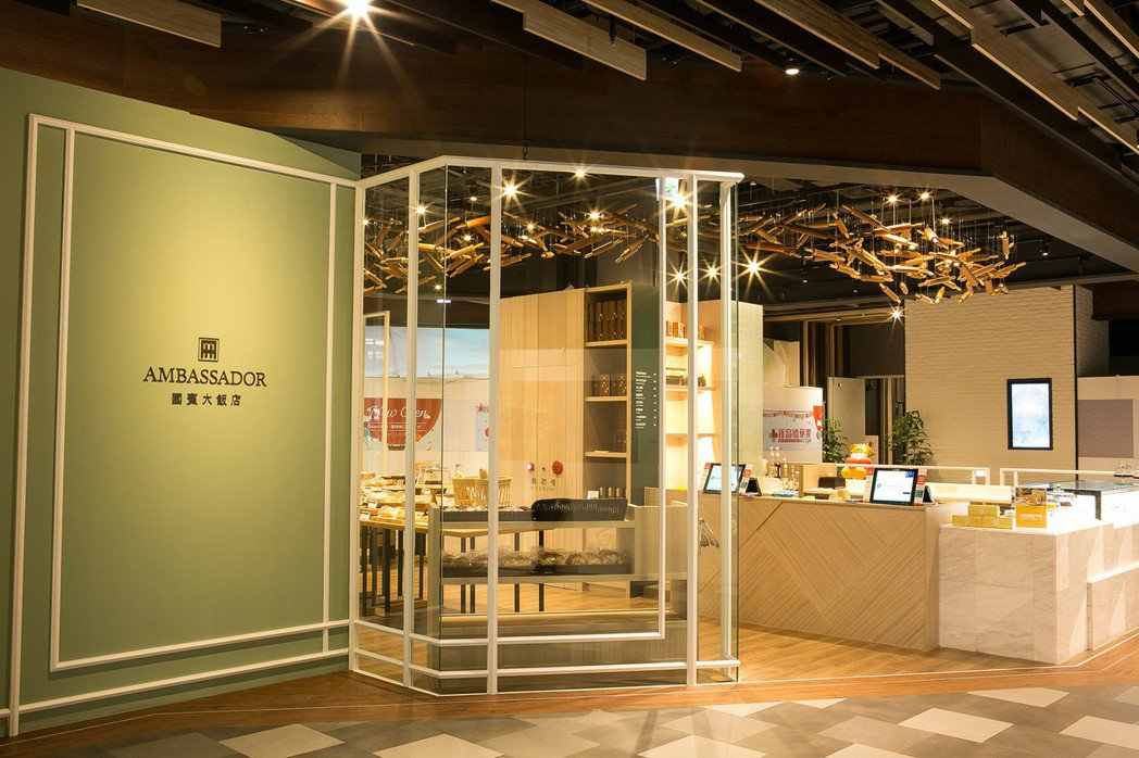 位於A9林口站的國賓麵包房是許多林口人最喜愛的麵包店。(照片提供:國賓)