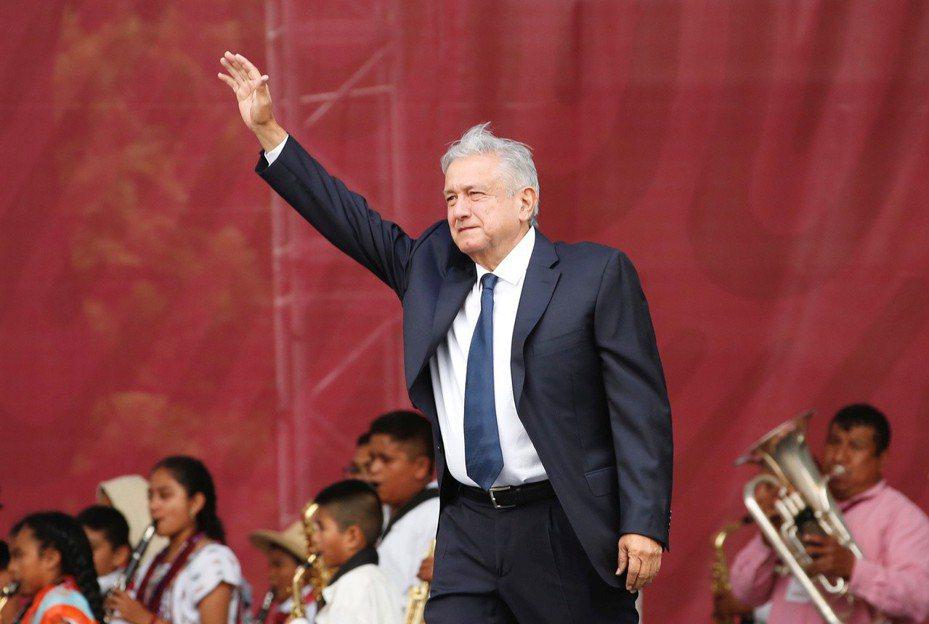墨西哥總統羅培茲。路透