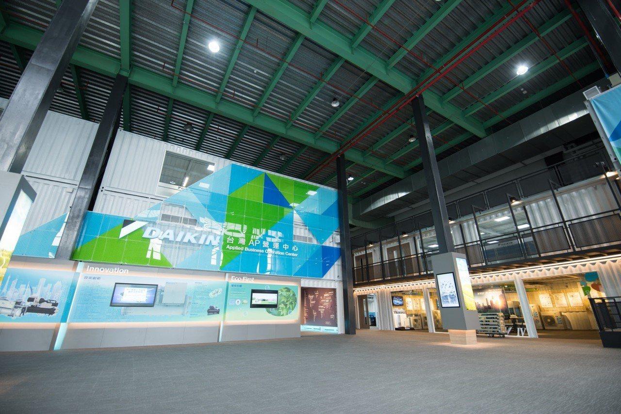 大金AP營運中心將推展應用系統產品、提供最先進的大型空調節能系統解決方案。圖/和...