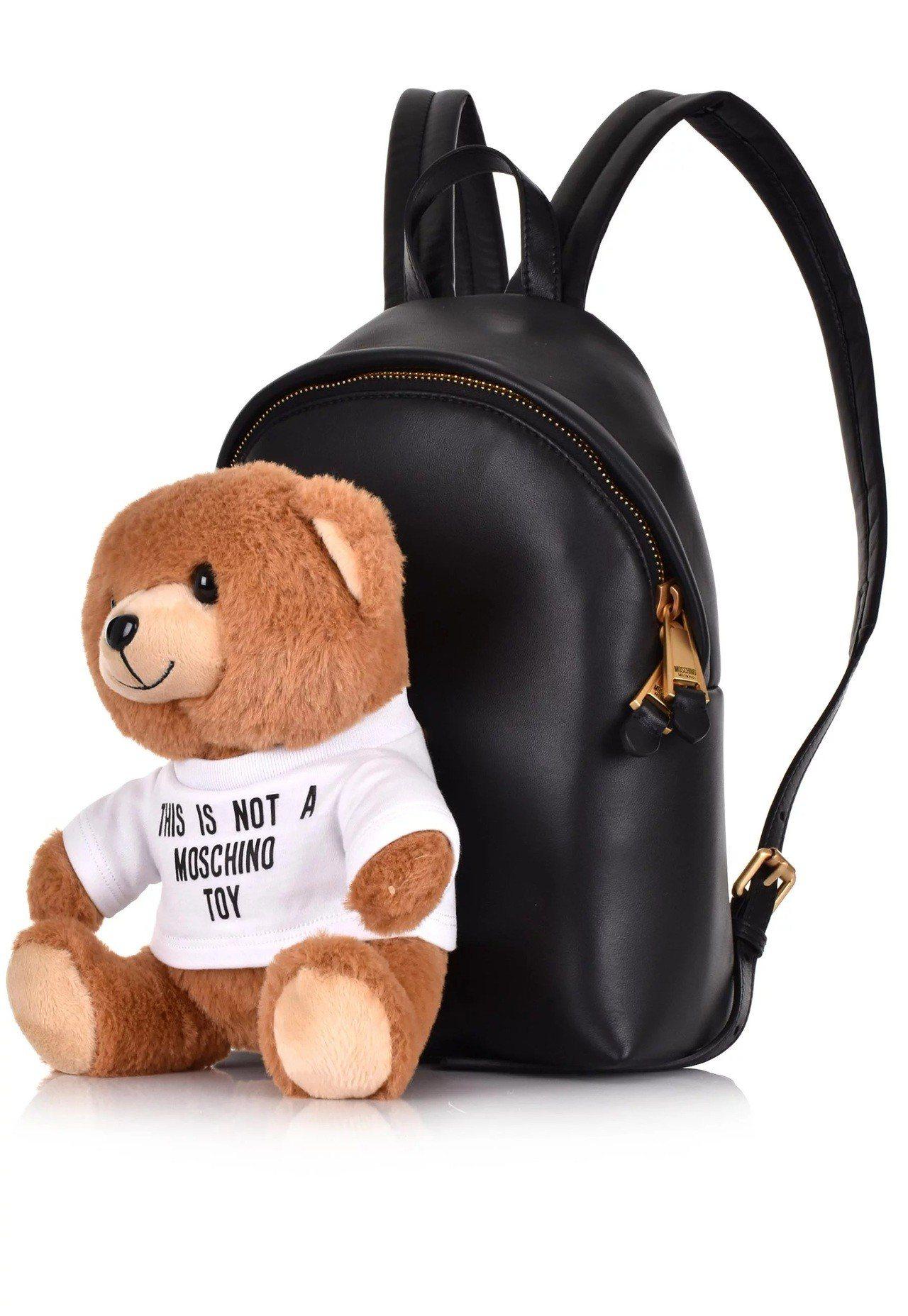 可拆式熊熊玩偶後背包49,800元。圖/Moschino提供