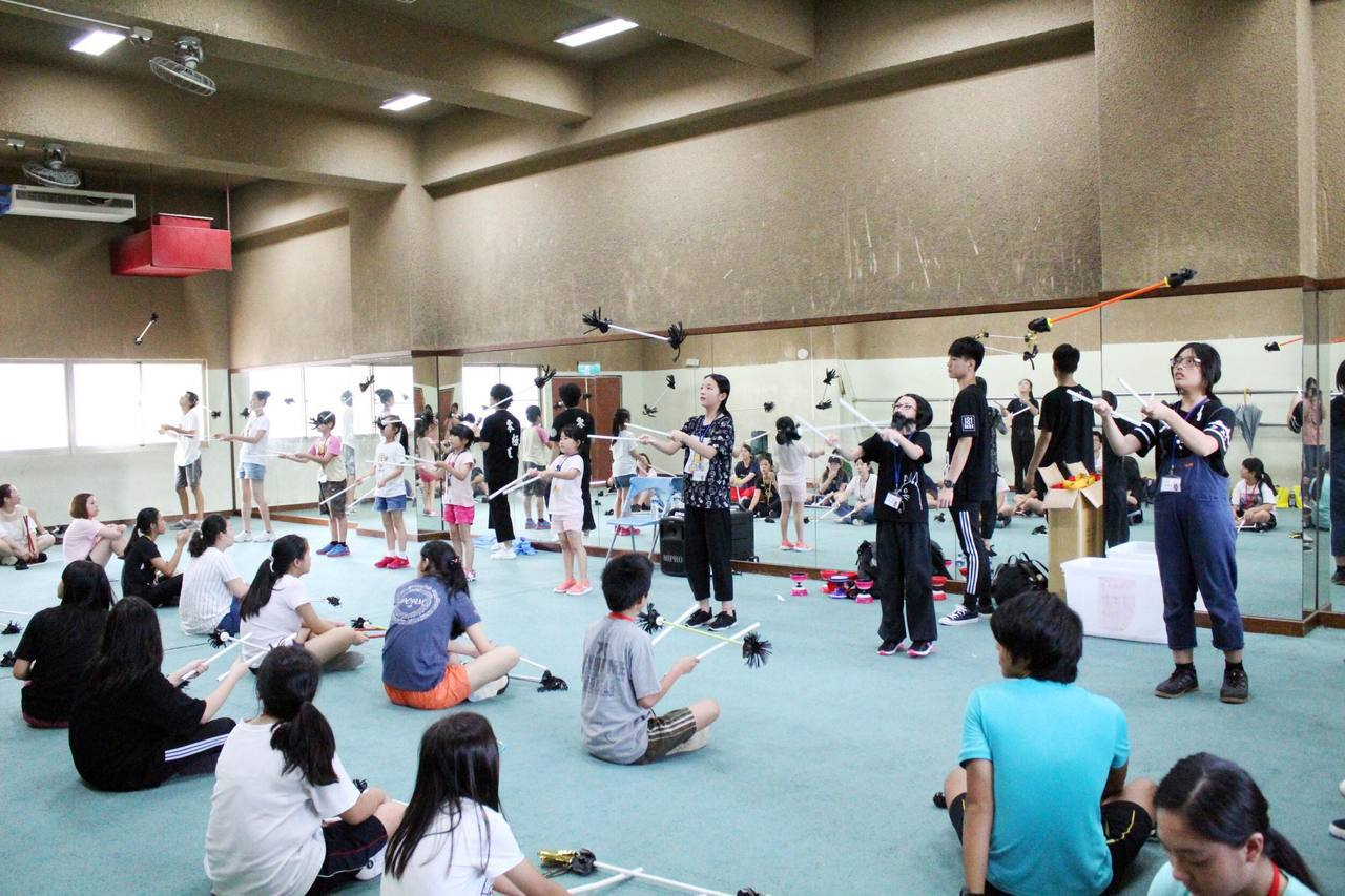 台灣戲曲學校與凌華教育基金會近日合作舉辦「凌華戲曲藝術工作坊」。圖/台灣戲曲學校...