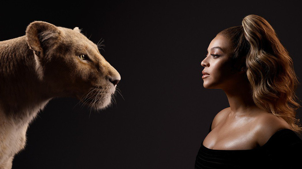 碧昂絲聯手華語歌神張學友合作迪士尼全新電影「獅子王」經典歌曲。圖/環球音樂提供