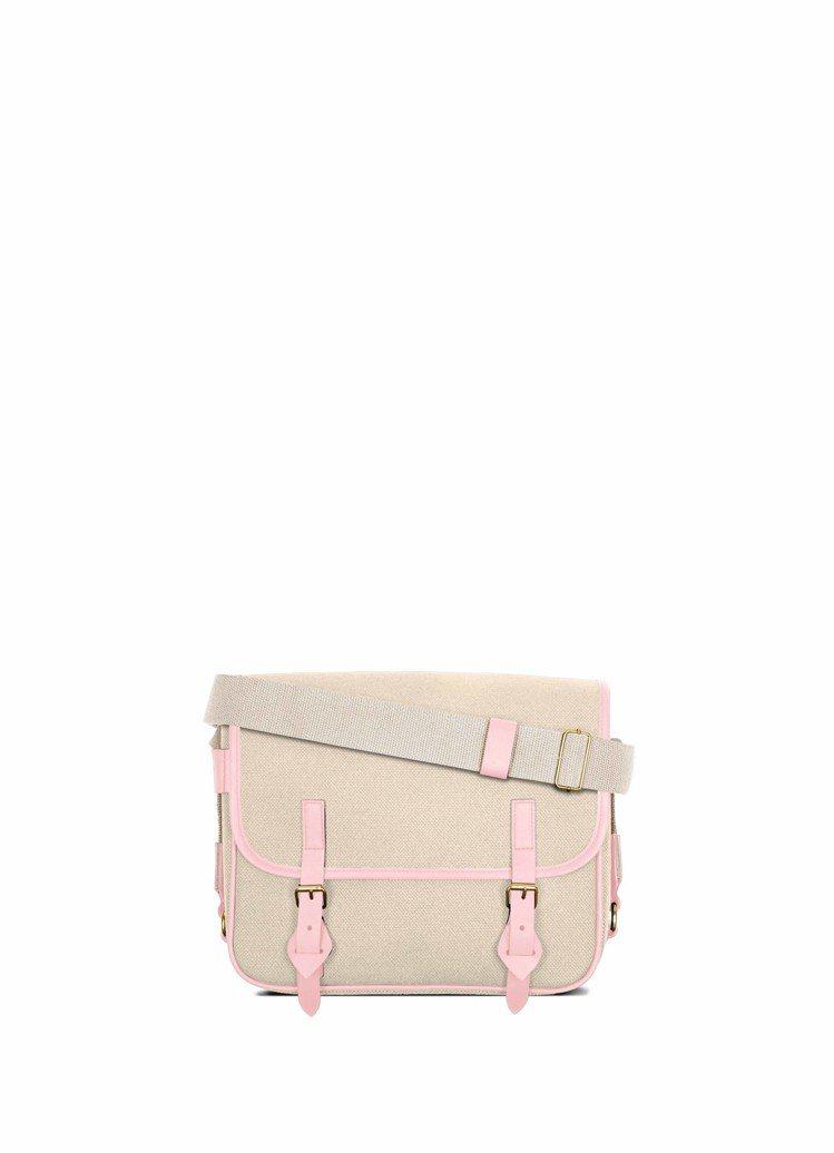No.43 米×粉紅色側背包,28,000元。圖/LUNIFORM提供