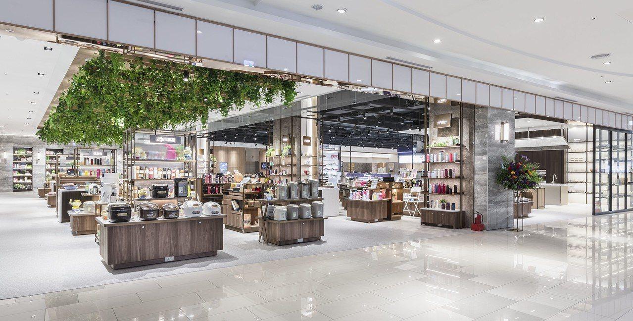高雄大魯閣草衙道購物中心導入全新的家用家電專區。圖/大魯閣草衙道提供