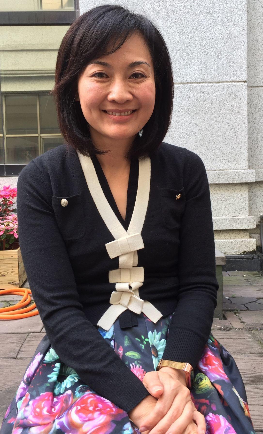 要參選立委的高雄市議員陳麗娜表示,「罷韓」都是那些人在操作,民眾都看得清楚。圖/...