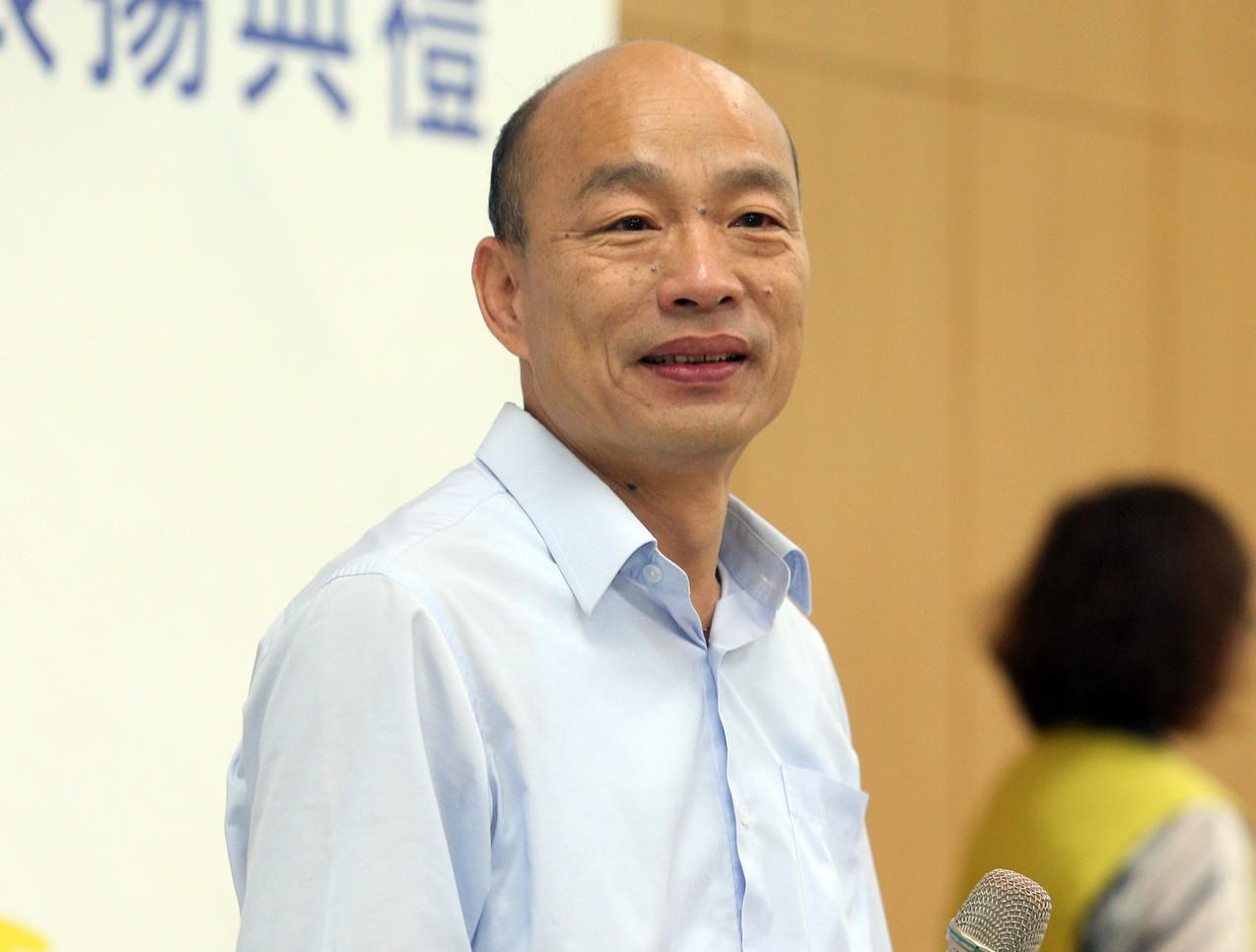 國民黨中常會明天(17日)將核備高雄市長韓國瑜為總統被提名人。圖/本報資料照片