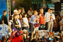 韓國瑜:爭取帶職參選 拜託所有參賽者團結