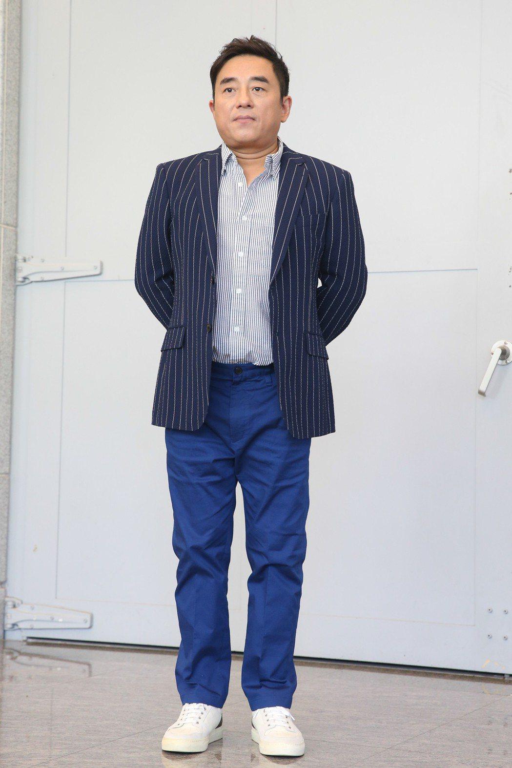 呂方來台拍攝MV。記者葉信菉/攝影