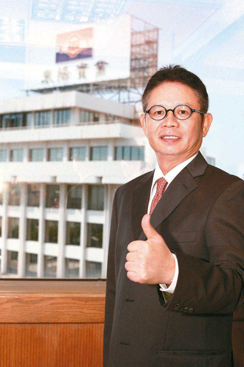 東陽總裁吳永祥 本報系資料庫
