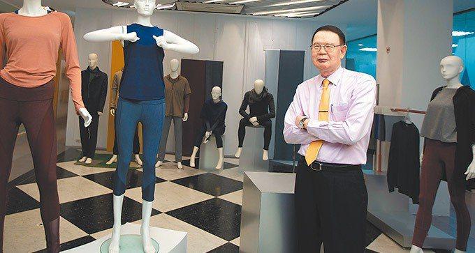 儒鴻董事長洪鎮海。 彭博資訊