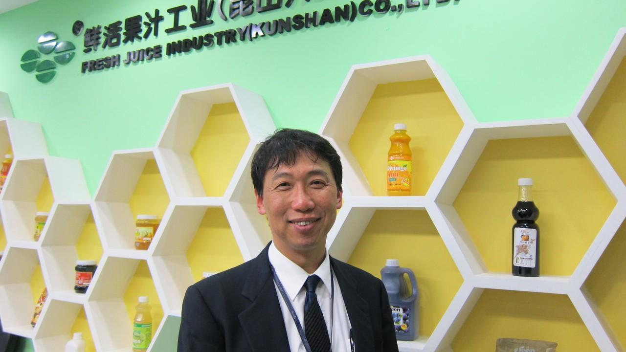鮮活果汁公司董事長黃國晃。 報系資料照