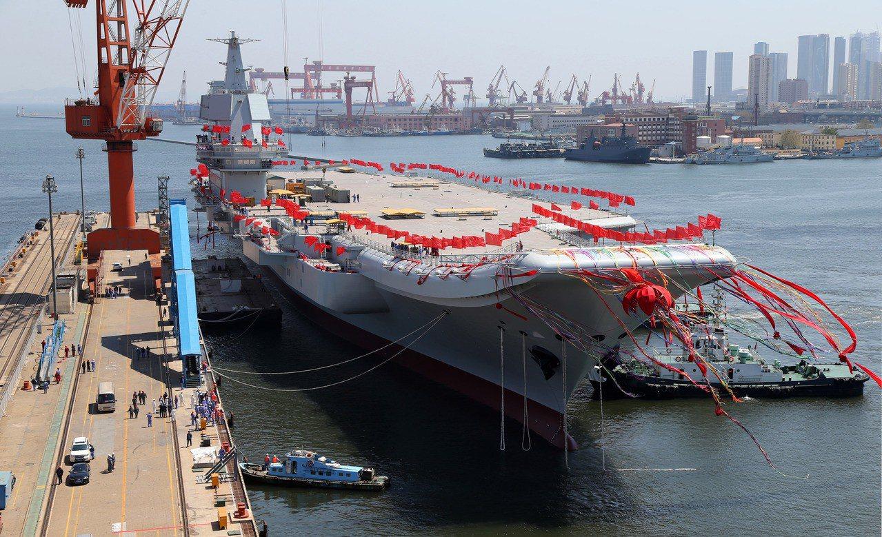 自製航母海試不順 無法在十一成軍 新華社
