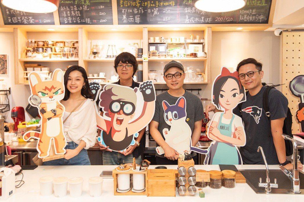台灣原創動畫《德哥與皮皮》首映會圓滿落幕。 大貓工作室/提供