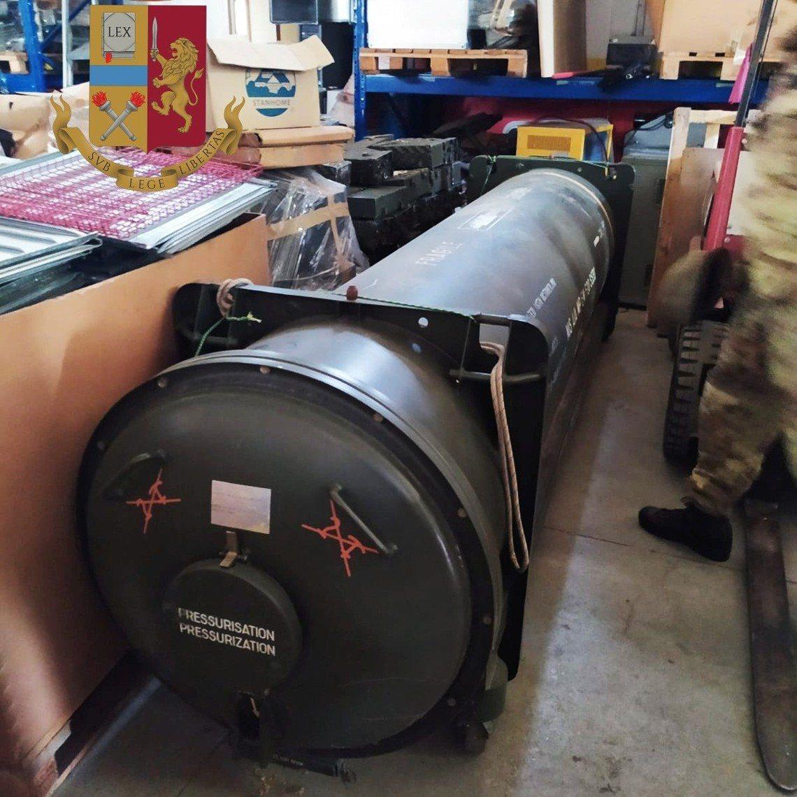 「這枚飛彈雖然已有些老舊,但確實有可能改造成地對空飛彈使用。」義大利軍方專家向《...