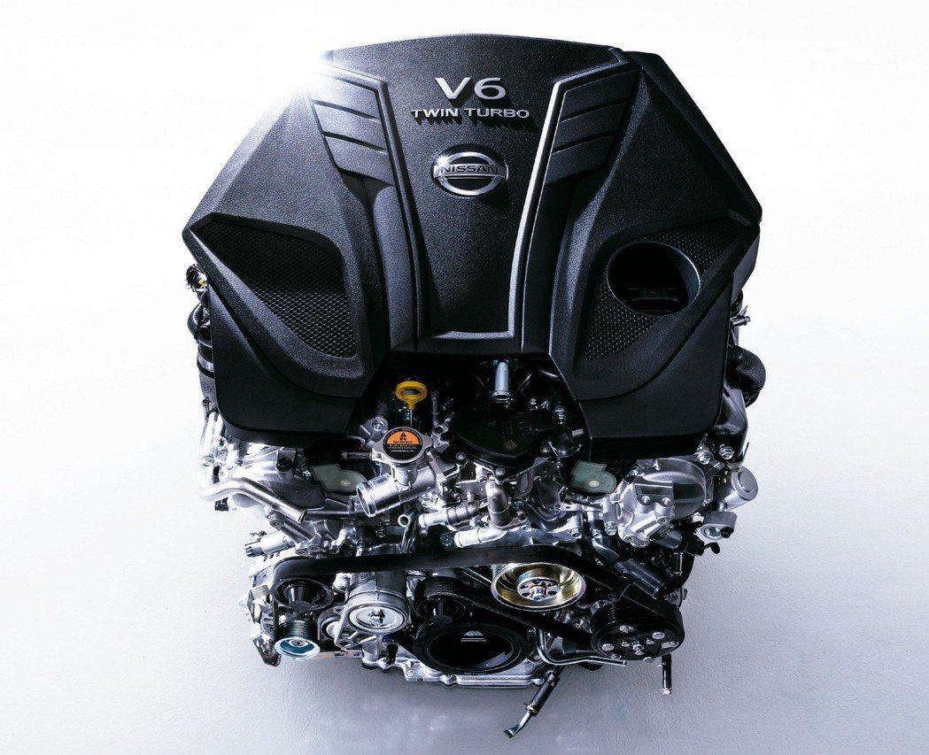 這具3.0升V6雙渦輪引擎(代號VR30DDTT)能爆發400hp馬力。 摘自N...