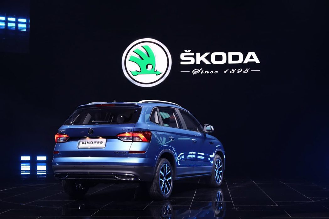 中國市場衰退近24%,使得ŠKODA在今年上半年的銷量也大受影響。圖為中國限定版...