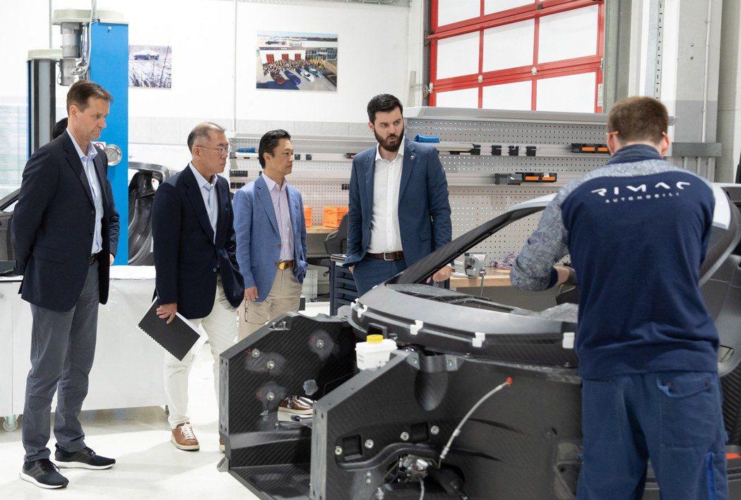 與電動超跑製造商Rimac合作後,外界猜測未來Hyundai N性能子品牌有望推...
