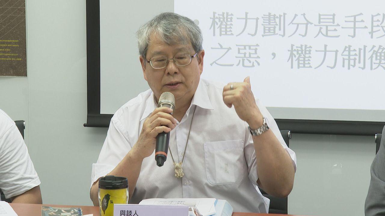 監委陳師孟。本報資料照片