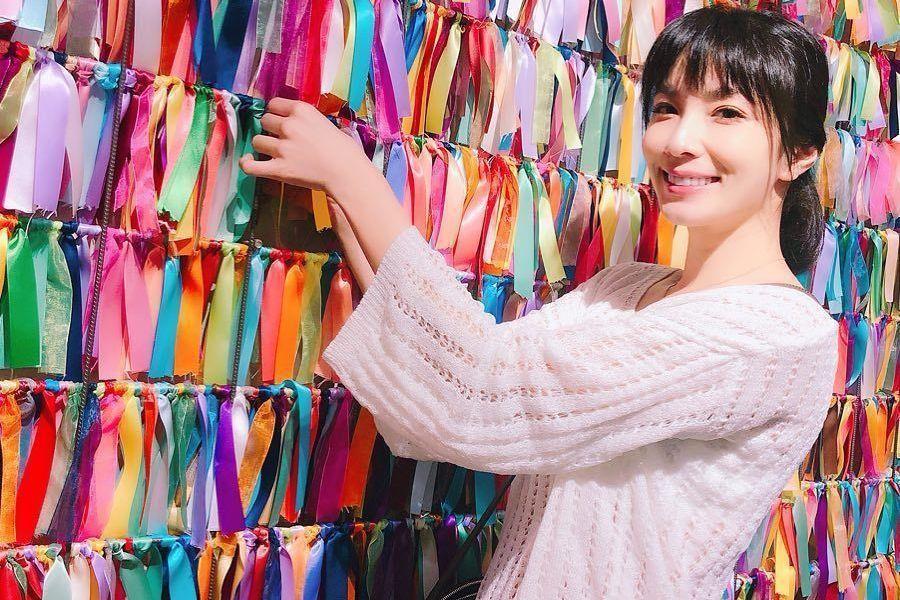 湘瑩在事件之後曾經改名想東山再起,如今還在演藝圈裡努力。圖/取自湘瑩臉書