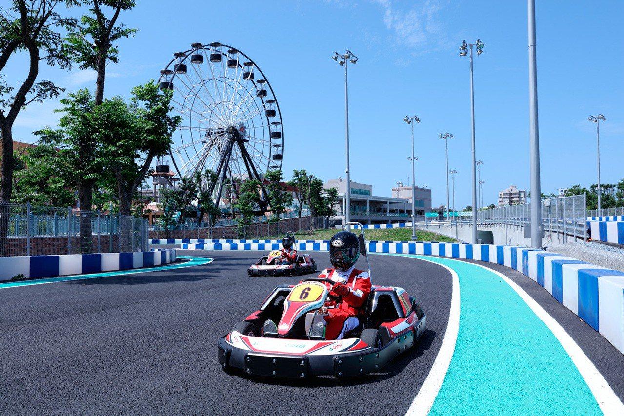 大魯閣草衙道擁有日本唯一授權的鈴鹿賽道樂園,F1特色賽道可體驗競速賽車快感以及寓...