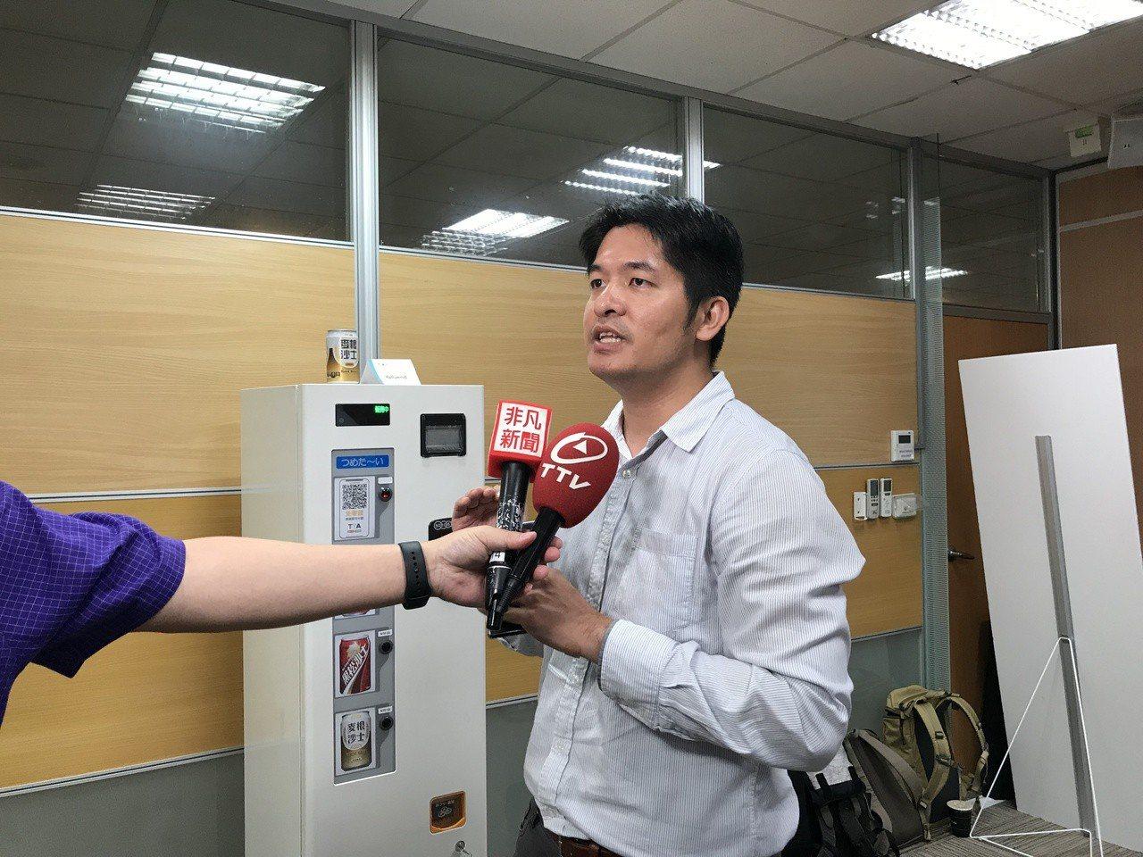業安科技執行長黃建堯。記者潘乃欣/攝影