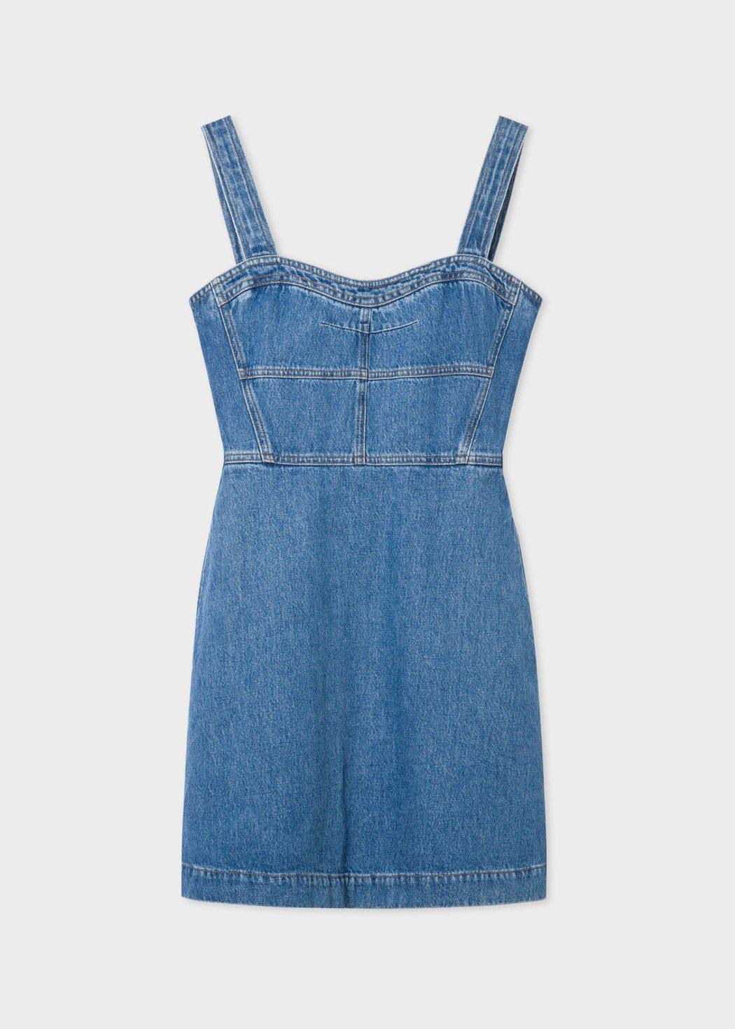 牛仔連身裙,原價14,800元,特價7,400元。圖/Paul Smith提供