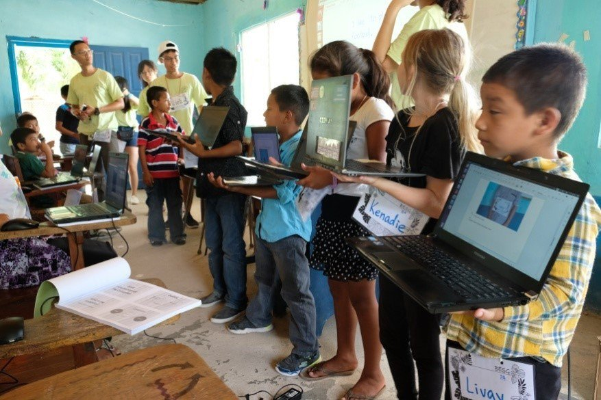 清大貝里斯資訊服務團自2011年成立至今,透過對貝國持續性的服務與援助,與友邦建...