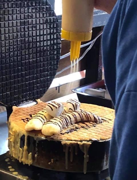 香蕉煎餅店「廣德家」。取自臉書