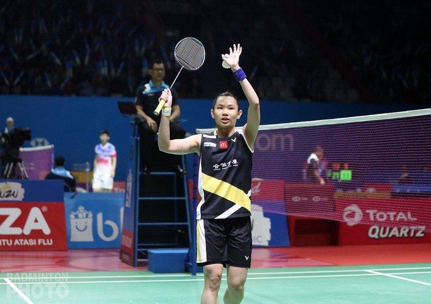 戴資穎輕鬆踏出衛冕第一步。圖/Badminton Photo提供
