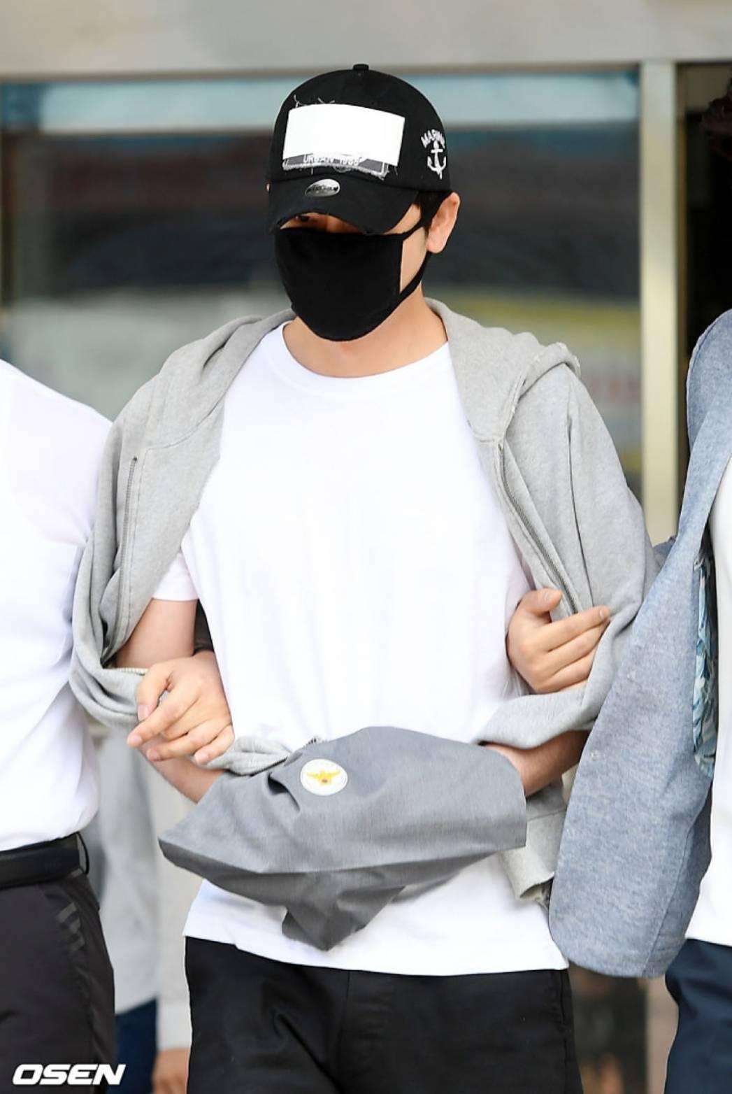 姜至奐已先認罪。圖/摘自OSEN