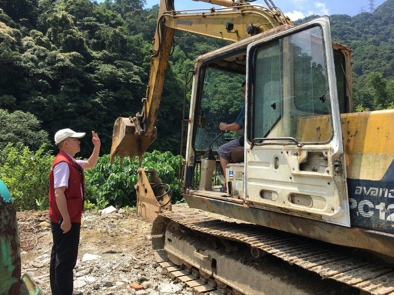 為預防可能到來的颱風丹娜絲,新北市府指示各單位進行各項防颱整備。記者柯毓庭/翻攝