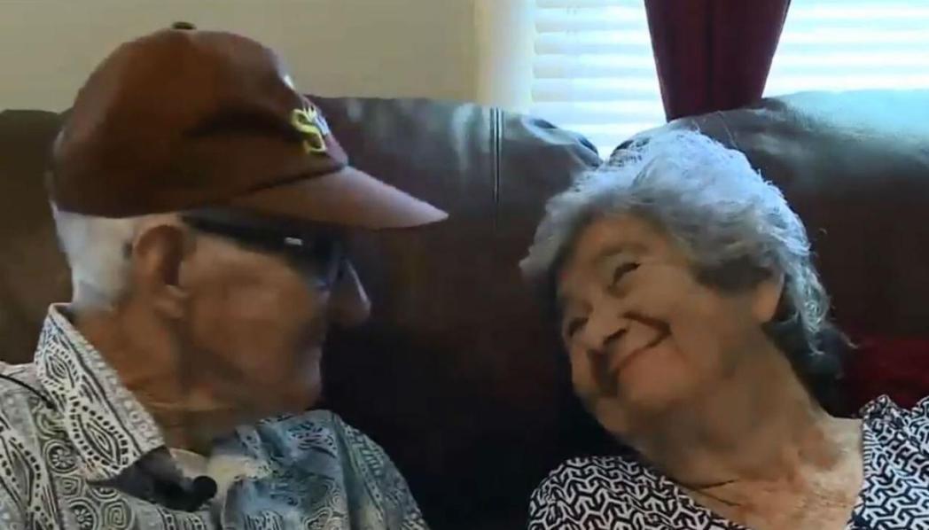 狄雷哥夫婦結婚71年依然恩愛。圖/取自網路