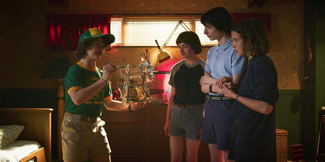 「怪奇物語」是目前Netflix在全球各地最火紅的自製大戲。圖/摘自imdb