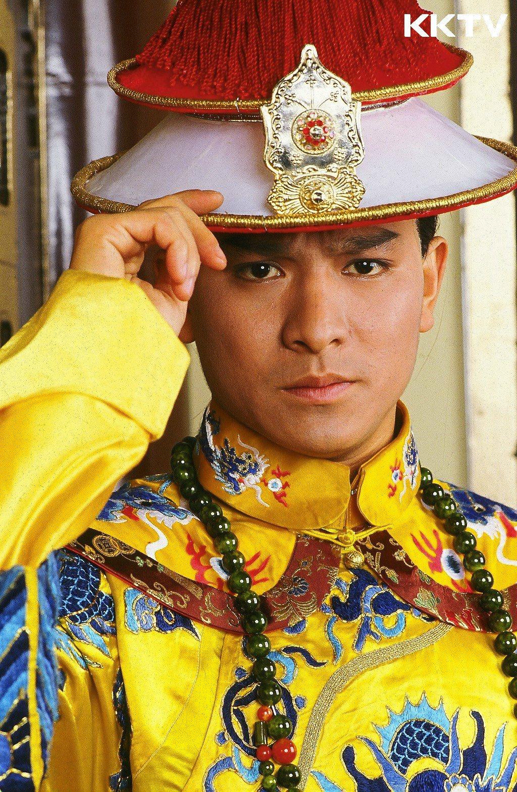 劉德華在「鹿鼎記」飾演康熙。圖/KKTV提供