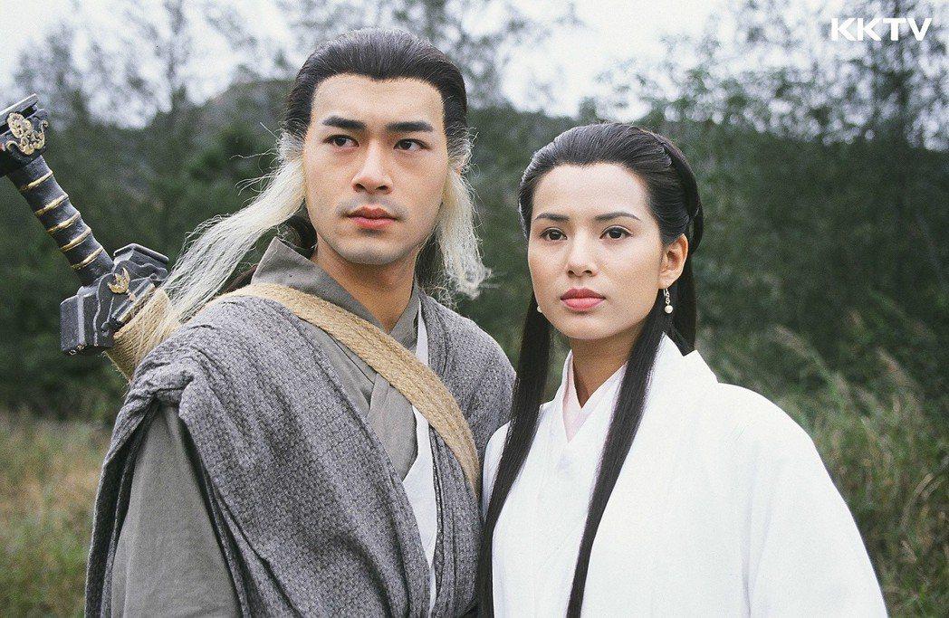 古天樂與李若彤的「神鵰俠侶」,是許多劇迷心中無可超越的經典。圖/KKTV提供
